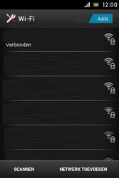 Sony ST21i Xperia Tipo - WiFi - Handmatig instellen - Stap 9