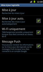 Samsung Galaxy S Advance - Logiciels - Installation de mises à jour - Étape 7