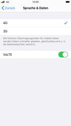 Apple iPhone 8 - iOS 14 - Netzwerk - So aktivieren Sie eine 4G-Verbindung - Schritt 7