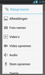 LG P700 Optimus L7 - E-mail - E-mails verzenden - Stap 10