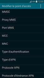 Samsung G850F Galaxy Alpha - MMS - Configuration manuelle - Étape 14
