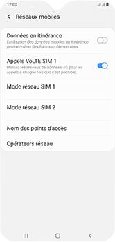 Samsung Galaxy A10 - Internet - configuration manuelle - Étape 9