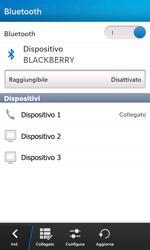 BlackBerry Z10 - Bluetooth - Collegamento dei dispositivi - Fase 9