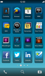 BlackBerry Z10 - E-mail - Bericht met attachment versturen - Stap 1