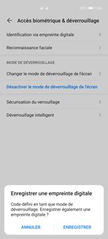 Huawei P40 Pro - Sécuriser votre mobile - Activer le code de verrouillage - Étape 7