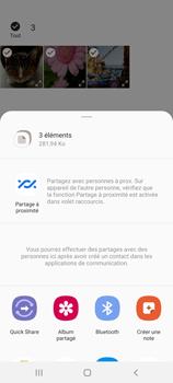 Samsung Galaxy Note20 - Photos, vidéos, musique - Envoyer une photo via Bluetooth - Étape 11