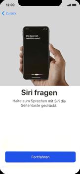 Apple iPhone X - iOS 11 - Persönliche Einstellungen von einem alten iPhone übertragen - 38 / 40