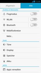 Huawei Ascend G526 - Internet - Manuelle Konfiguration - Schritt 4