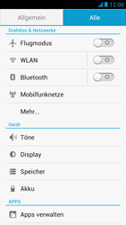 Huawei Ascend G526 - Internet und Datenroaming - Manuelle Konfiguration - Schritt 4