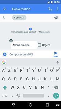 Motorola Moto E4 Plus - Contact, Appels, SMS/MMS - Envoyer un MMS - Étape 9