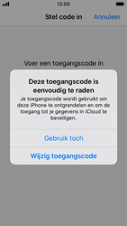 Apple iPhone SE - iOS 13 - Beveiliging - stel in of wijzig pincode voor je toestel - Stap 6