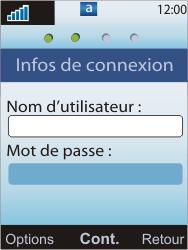Sony W595 - E-mail - Configuration manuelle - Étape 8