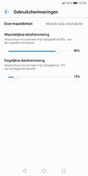 Huawei P Smart - internet - mobiele data managen - stap 12