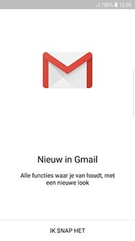 Samsung Galaxy S7 Edge - Android Oreo - E-mail - handmatig instellen (gmail) - Stap 5