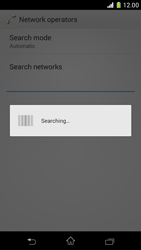 Sony Xperia Z1 Compact - Network - Manual network selection - Step 7