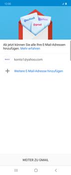 Samsung Galaxy Z flip - E-Mail - 032b. Email wizard - Yahoo - Schritt 14