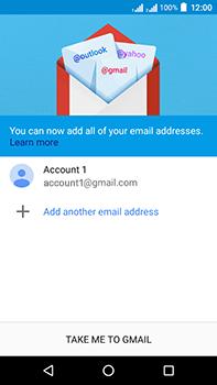 Acer Liquid Zest 4G Plus DualSim - E-mail - Manual configuration (gmail) - Step 15