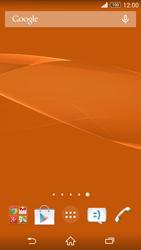 Sony Xperia Z3 - Startanleitung - Installieren von Widgets und Apps auf der Startseite - Schritt 3