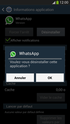 Samsung Galaxy S 4 LTE - Applications - Comment désinstaller une application - Étape 8