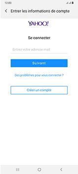 Samsung Galaxy A70 - E-mails - Ajouter ou modifier votre compte Yahoo - Étape 7