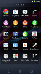Sony Xperia Z1 Compact - Internet - Manuelle Konfiguration - 0 / 0