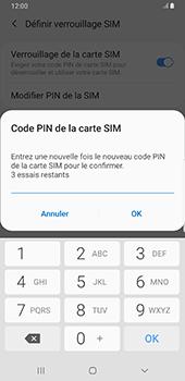 Samsung Galaxy S9 Plus - Android Pie - Sécurité - modifier SIM PIN - Étape 10