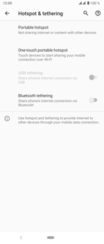 Sony Xperia 5 - WiFi - How to enable WiFi hotspot - Step 6