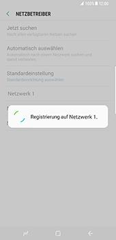 Samsung Galaxy S8 - Netzwerk - Manuelle Netzwerkwahl - Schritt 10