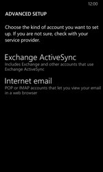 Nokia Lumia 635 - E-mail - manual configuration - Step 10