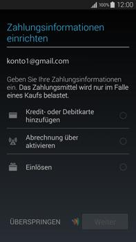 Samsung Galaxy Note 4 - Apps - Einrichten des App Stores - Schritt 20
