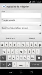 Sony D2203 Xperia E3 - E-mail - Configuration manuelle - Étape 8