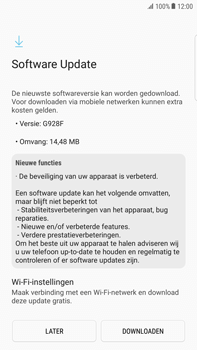 Samsung Samsung G928 Galaxy S6 Edge + (Android N) - Toestel - Software update - Stap 8