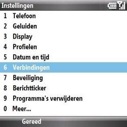 Samsung B7330 Omnia Pro - internet - handmatig instellen - stap 4