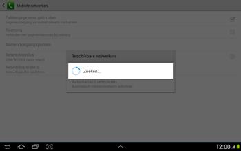 Samsung N8000 Galaxy Note 10-1 - Buitenland - Bellen, sms en internet - Stap 8