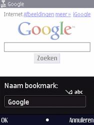 Nokia N86 - Internet - Internetten - Stap 6