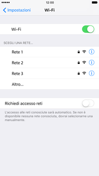 Apple Apple iPhone 7 Plus - WiFi - Configurazione WiFi - Fase 5
