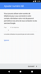 Google Pixel XL - Applications - Créer un compte - Étape 14
