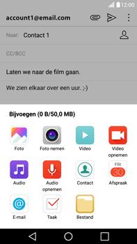 LG K520 Stylus 2 DAB+ - E-mail - Hoe te versturen - Stap 11