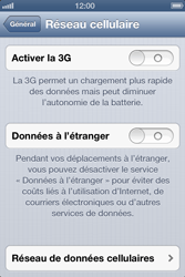 Apple iPhone 3GS - Internet et roaming de données - Configuration manuelle - Étape 6