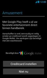 Huawei Ascend Y300 - apps - account instellen - stap 23