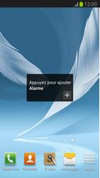 Samsung Galaxy Note 2 - Applications - Personnaliser l