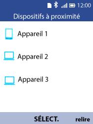 Alcatel 3088X - Photos, vidéos, musique - Envoyer une photo via Bluetooth - Étape 12