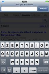Apple iPhone 4 S - Internet - Navigation sur Internet - Étape 9
