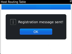 BlackBerry 9360 Curve - Settings - Configuration message received - Step 8
