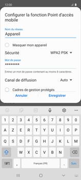 Samsung Galaxy A51 5G - Internet et connexion - Partager votre connexion en Wi-Fi - Étape 9
