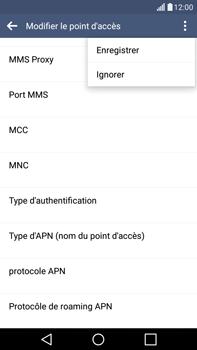 LG H365 G4 Stylus - Internet - configuration manuelle - Étape 16