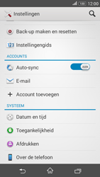 Sony E2003 Xperia E4G - software - update installeren zonder pc - stap 4