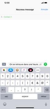 Apple iPhone XR - Contact, Appels, SMS/MMS - Envoyer un MMS - Étape 9