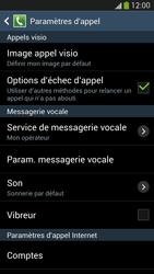 Samsung I9295 Galaxy S IV Active - Messagerie vocale - configuration manuelle - Étape 7