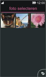 Nokia Asha 311 - MMS - afbeeldingen verzenden - Stap 12